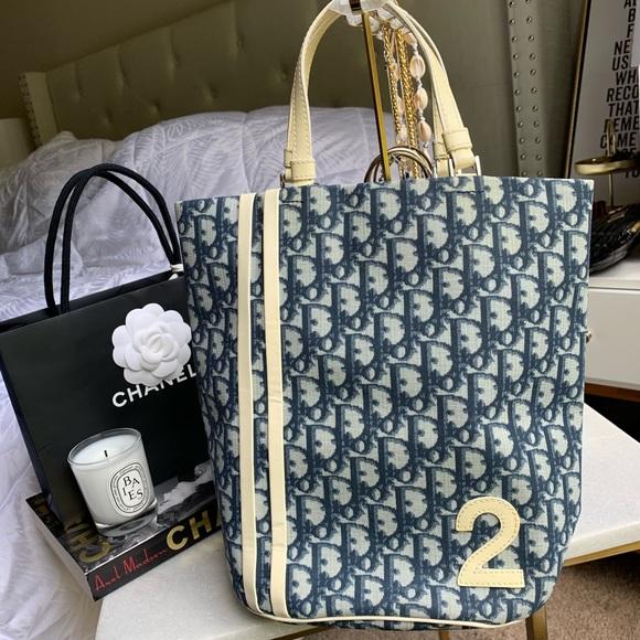 a9e57d32542 Dior Handbags - ⚡️SALE⚡️CHRISTIAN DIOR Trotter Monogram Tote Bag